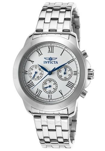 reloj hombre invicta - womens quartz 37mm stainless steel