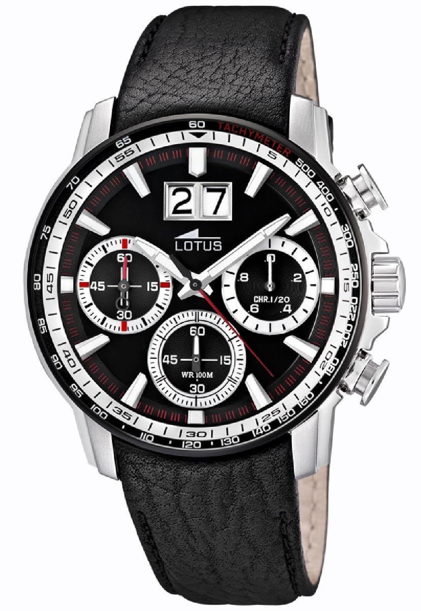 7240e223a7ee Reloj Hombre 10115 3 Negro Lotus -   136.800 en Mercado Libre