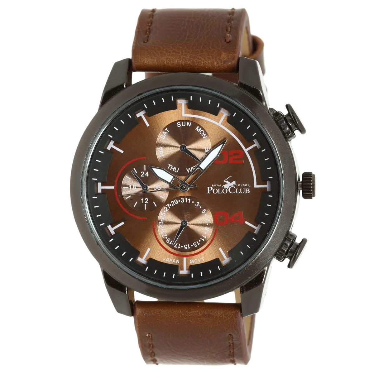d73533f2cbc6 Reloj Hombre Mano Polo Club Caballero Cafe Rlpc2855c -   499.00 en ...