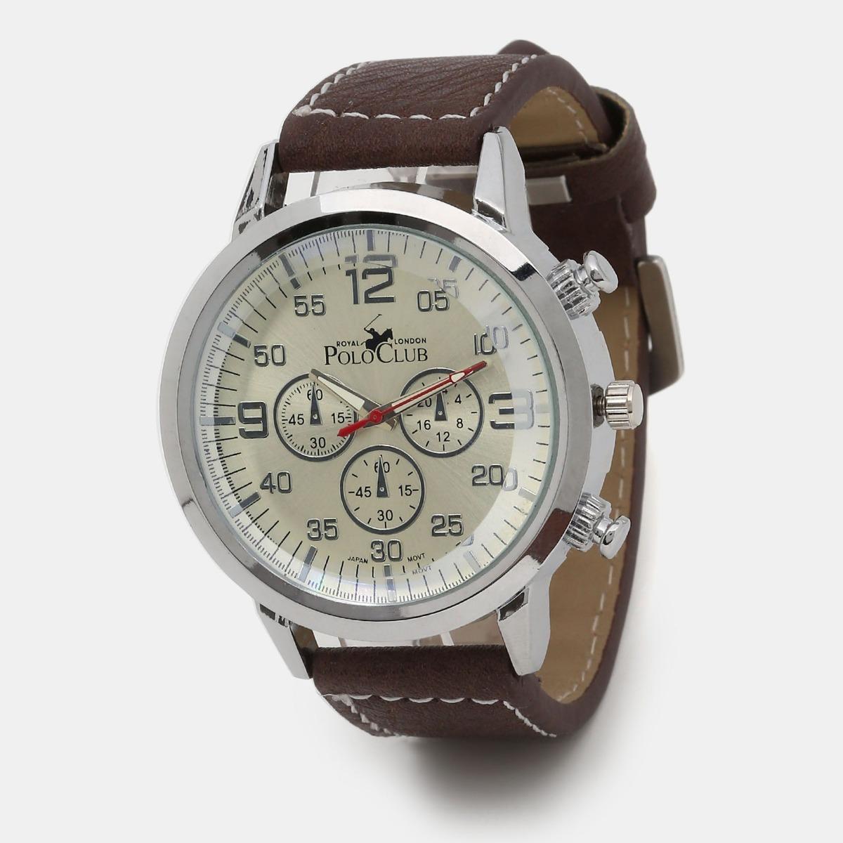 0f90889c19f4 Reloj Hombre Mano Polo Club Caballero Cafe Rlpc2902a -   549.00 en ...