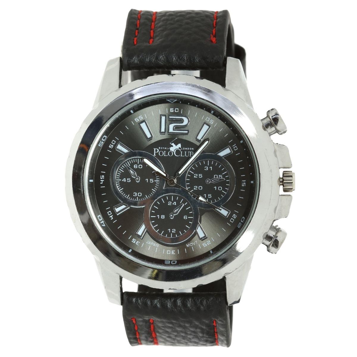 0a1e0fe983fa Reloj Hombre Mano Polo Club Caballero Negro Rlpc2859c -   449.00 en ...