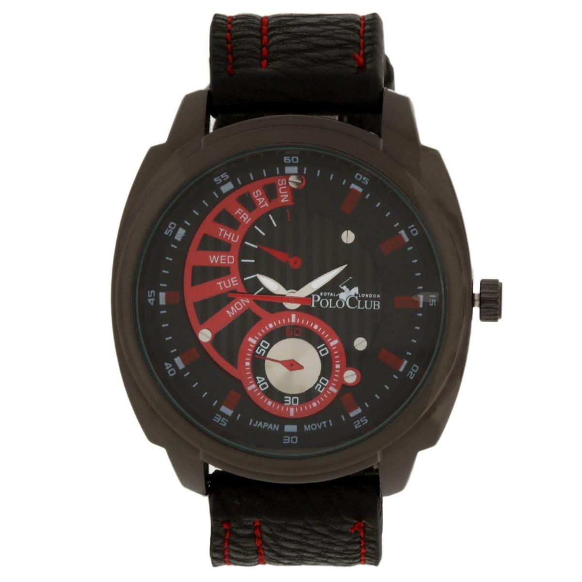69c1d151ef80 Reloj Hombre Mano Polo Club Caballero Rlpc2831 B Negro -   449.00 en ...