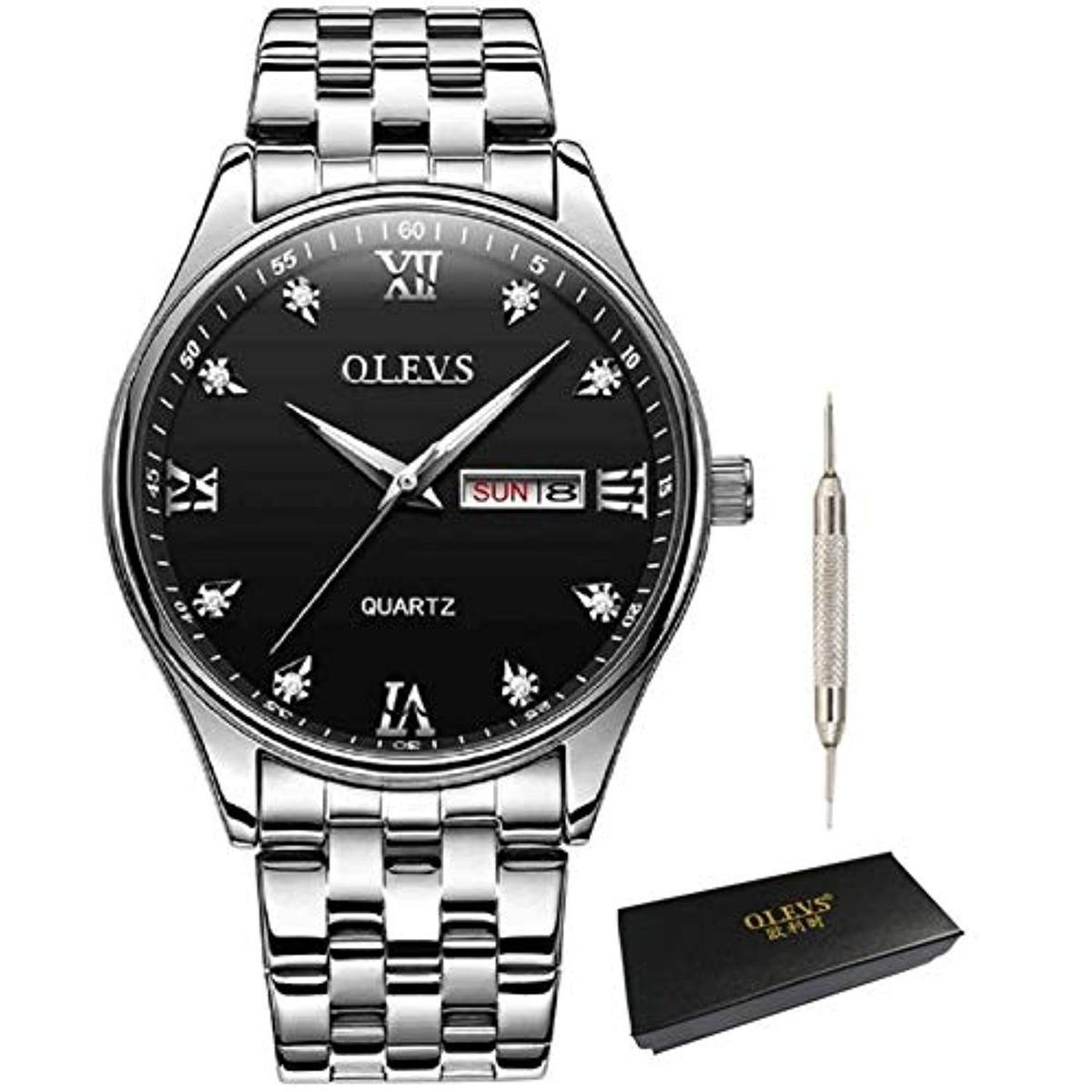 Reloj Hombre Men Business Wrist Watch Waterproof