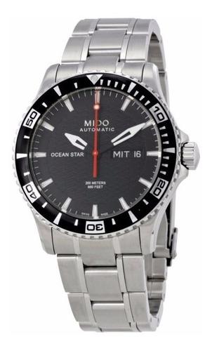 reloj hombre mido m011.430.11.051.02 agente oficial