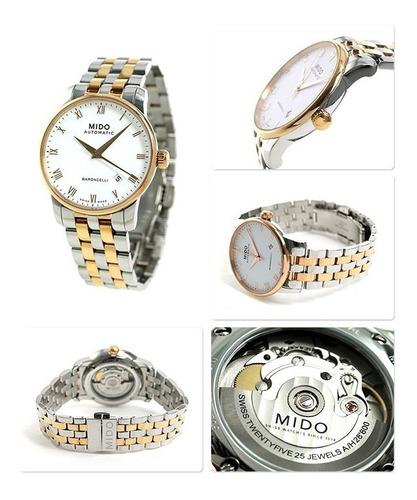 reloj hombre mido m8600.9.n6.1  agente oficial argentina