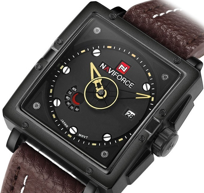 9065 Hombre 25Volta Friday Militar Reloj Naviforce Black UMzSVp