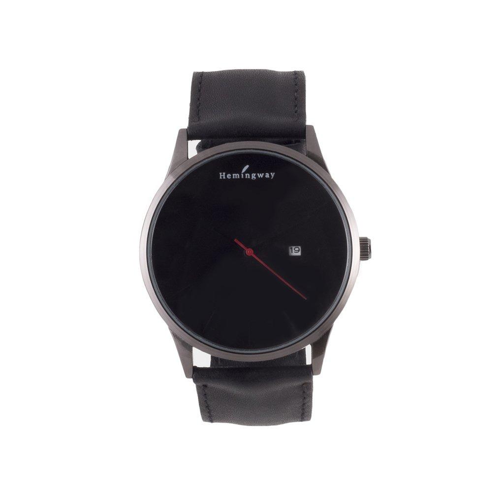e0dca68b4 Reloj Hombre Minimalista 45mm - Cuero Negro - $ 1.746,58 en Mercado ...