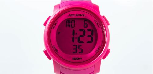 reloj hombre mujer digital prospace sumergible deporte