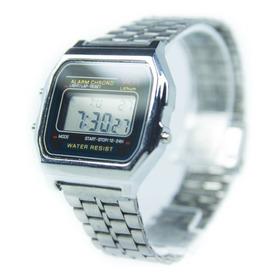 Reloj Hombre Mujer Retro Clasico Alarma Cronometro Luz