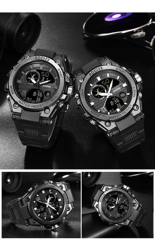 reloj hombre multifunción deportivo sumergible 56
