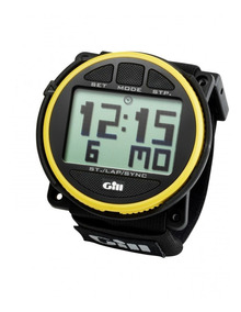 Hombre Nautico Timer Reloj Regatta Race Yellow Watch Gill bI76yfmYgv