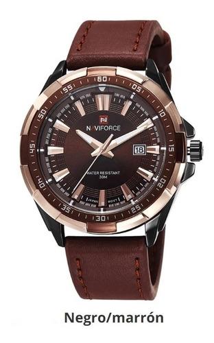 reloj hombre naviforce original elegante y casual garantizad
