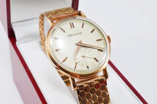 reloj hombre oro 18k jaeger lecoultre antiguo regalo