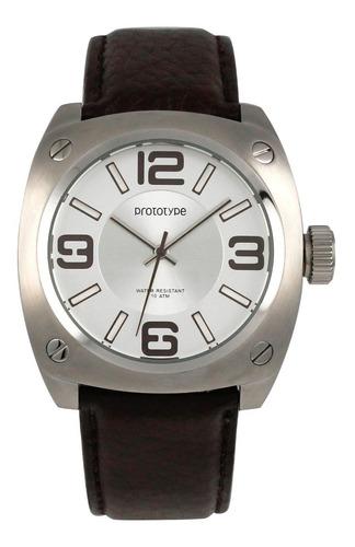 reloj hombre prototype lth-1166-05  agente oficial belgrano