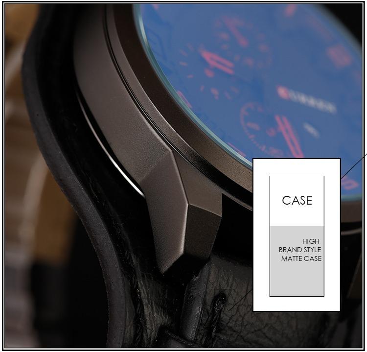 1f82cff34c74 Reloj Hombre Pulsera Cuero Lujo Militar Envío Gratis 20 Días ...