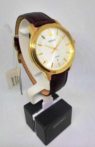 reloj hombre seiko clasico sur036p1 original