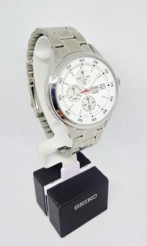 reloj hombre seiko sks473p1 cronografo original