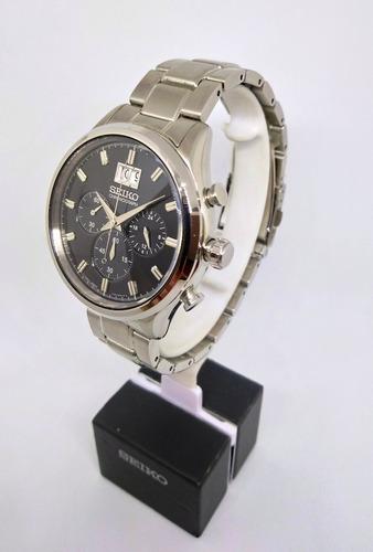 reloj hombre seiko spc083p1 cronografo original
