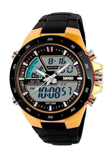 reloj hombre skmei 1016 reloj digital deportivo
