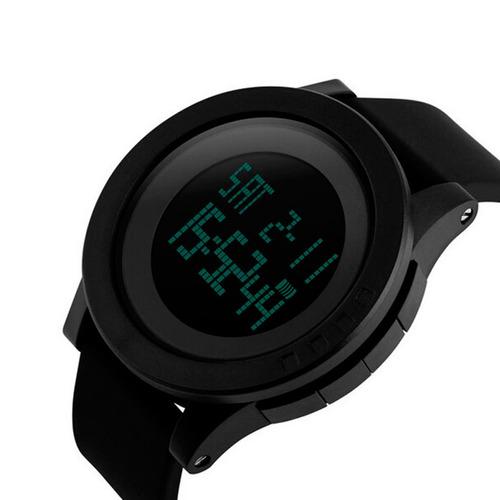 reloj hombre skmei 1142 crono alarma sumergible gtia 1 año