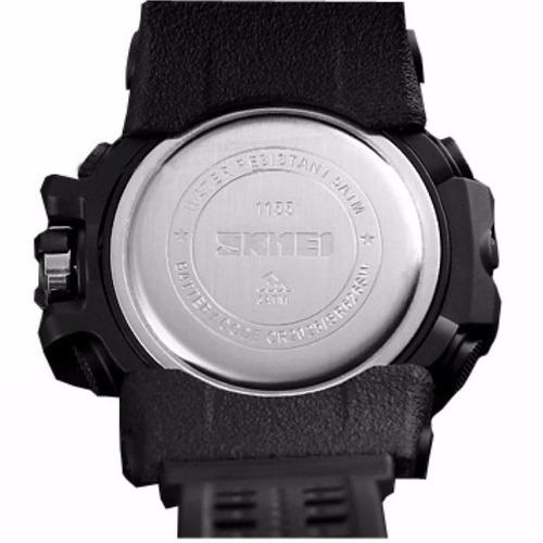 reloj hombre skmei 1155 digital cronometro alarma luz