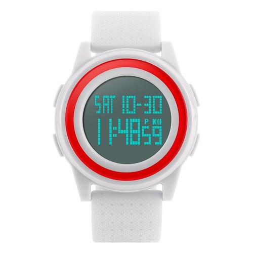 reloj hombre skmei 1206  crononómetro alarma luz cuenta regresiva sumergible
