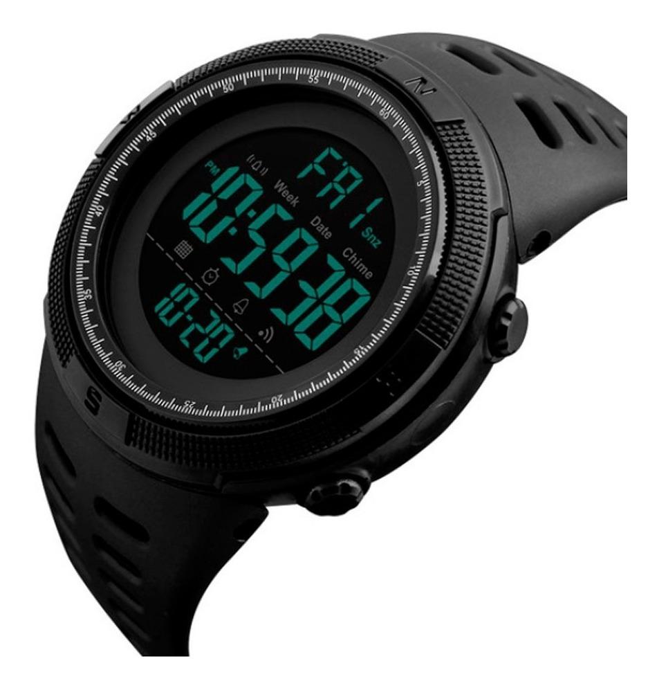 comprar popular 04c7f 1f147 Reloj Hombre Skmei 1251 Reloj Digital Resistente Al Agua