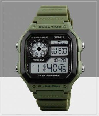 d58cd6dcd4a8 Reloj Hombre Skmei 1299 Maquina Japonesa Tendencia -   690