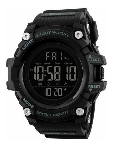 reloj hombre skmei 1384 cronometro fecha sumergible militar