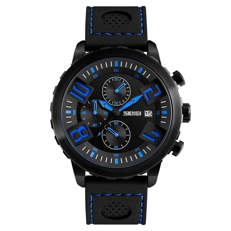 21a3559e4 reloj hombre skmei 9153 cronografos elegante militar moderno. Cargando zoom.