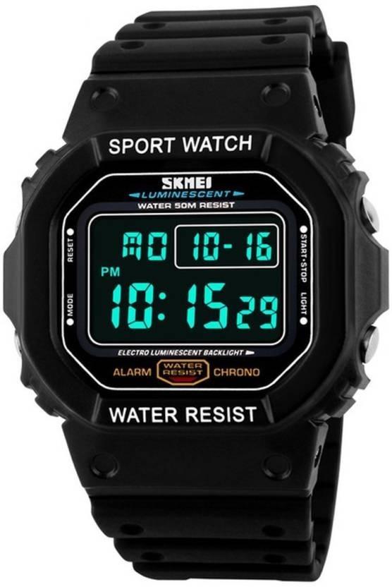 2507efd41592 reloj hombre skmei cronometro - sumergible - deportivo. Cargando zoom.