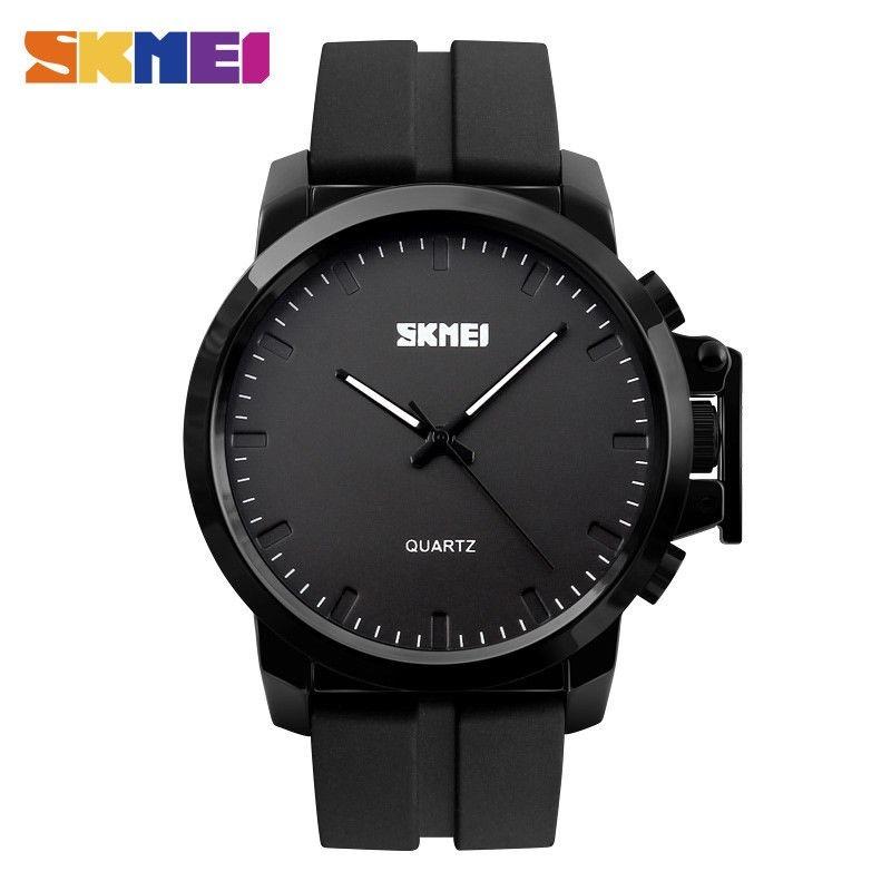 reloj hombre skmei mod 1208 agujas negro silicona moderno. Cargando zoom. 132f2da3b574