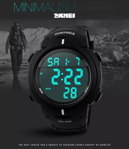 reloj hombre skmei sumergible garantía deportivo moderno