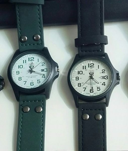 Reloj Hombre - Sport - Analogico - Cuero - Fecha - Soki -   490 ca1eda65061e