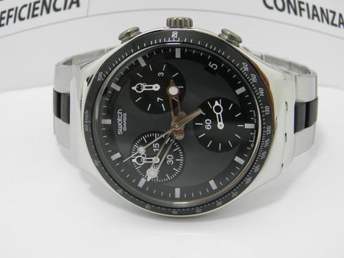 reloj hombre swatch ycs-410gx  original 100% acero