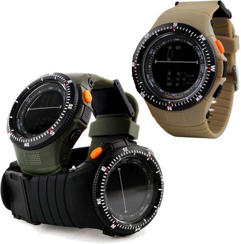 reloj hombre táctico militar deportivo. skmei. envio gratis