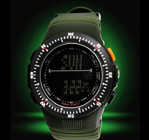 reloj hombre tactico militar elite deportivo sumergible100m