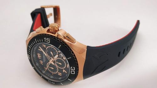 reloj hombre technomarine ocean manta crono oro rosa 215064