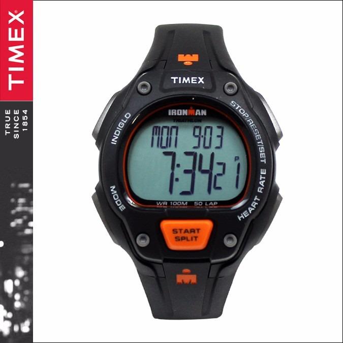 b819fef52ac4 Reloj Hombre Timex Ironman Mod. T5k720- Negro Y Naranja -   5.449