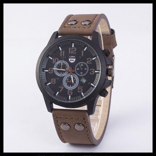 reloj hombre tipo militar sport navy seal 4 colores