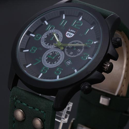 reloj hombre tipo militar sport navy seal 4 colores mayoreo