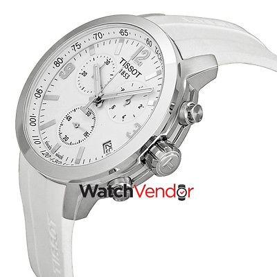 ba1342ec7b84 reloj hombre... tissot · tissot prc 200 cronógrafo reloj esfera blanca para  ...