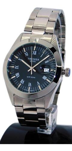 reloj hombre tressa modelo frank acero wr50 joyeria esponda