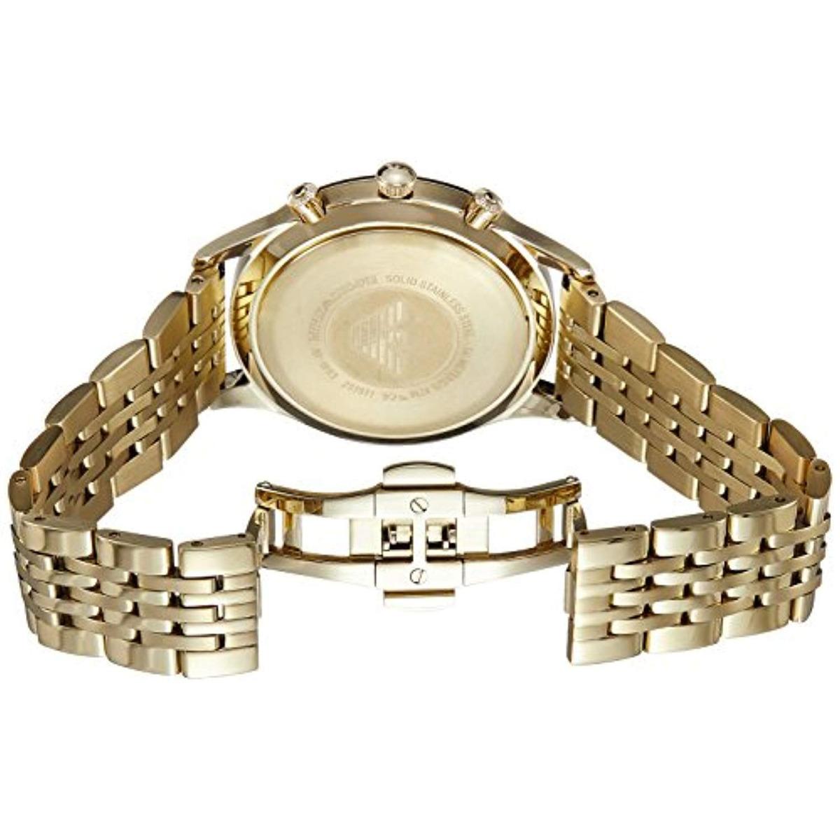 1b741c81e582 reloj hombre vestido ar1893 de hombre emporio armani dorado. Cargando zoom.