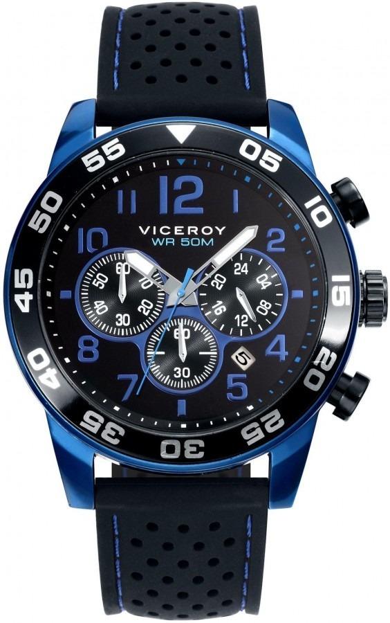 f37f6adf5a19 reloj hombre viceroy 40423-35 caronografo wr 50m sumergible. Cargando zoom.