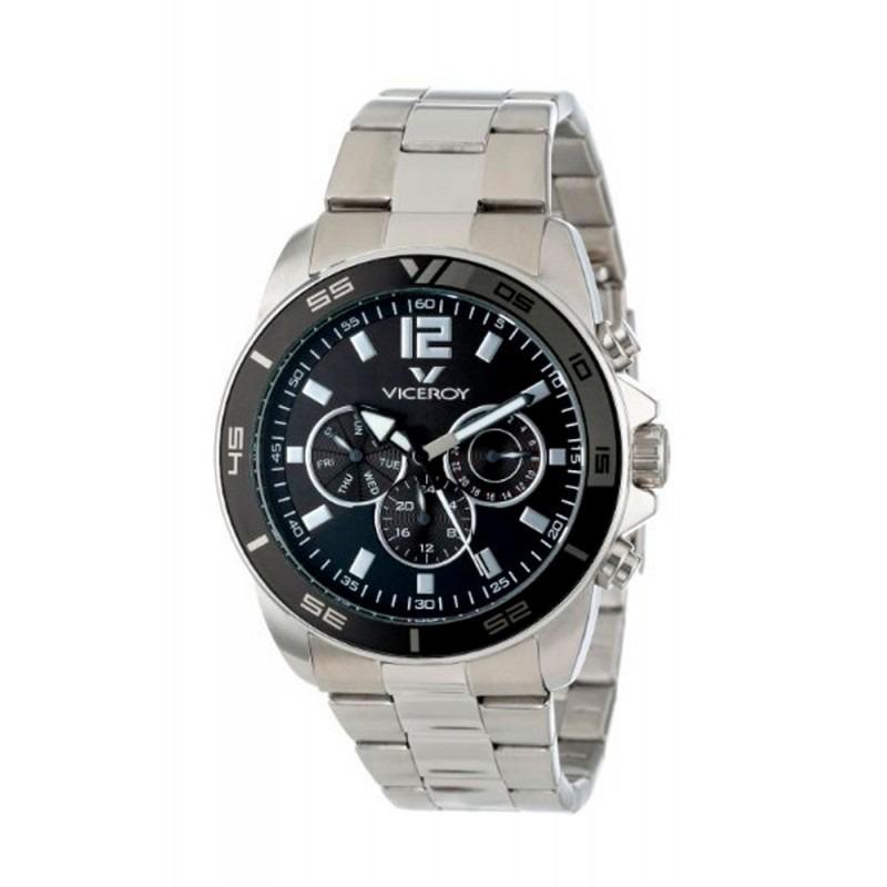 5d778b29494f reloj hombre viceroy 432127-55 cronografo acero wr 50 m. Cargando zoom.