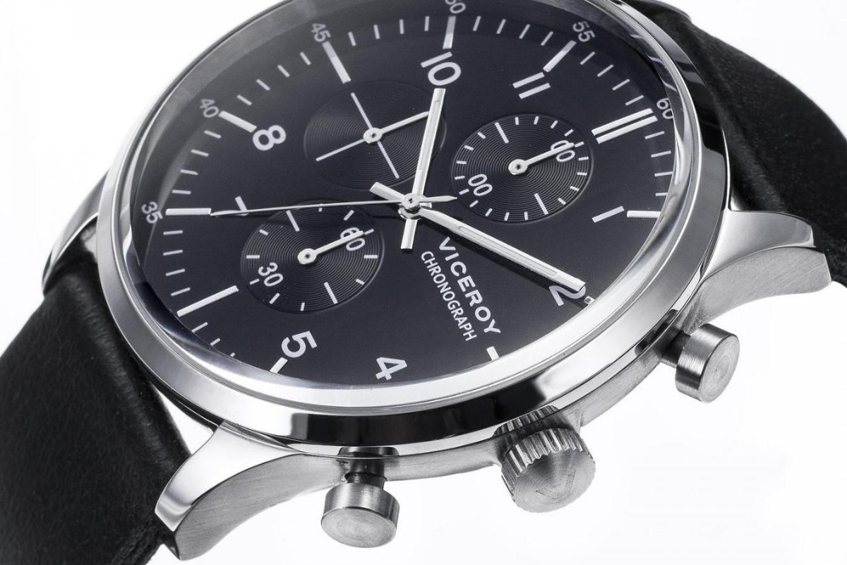 2b077f35886c reloj hombre viceroy 432291-54 cronografo wr 50m acero inox. Cargando zoom.