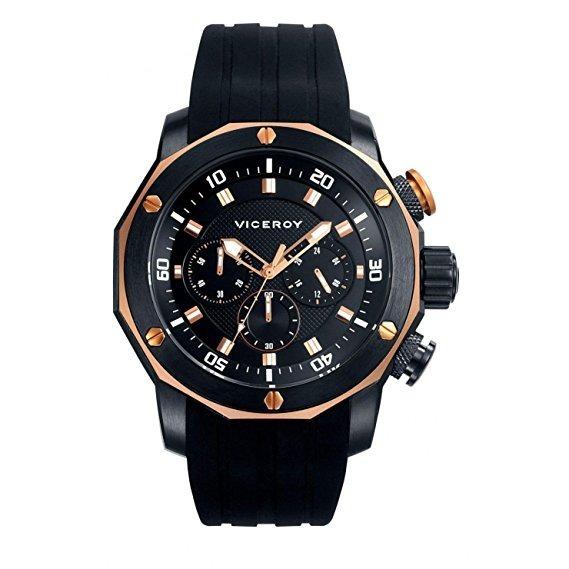 ae7e6d769850 Reloj Hombre Viceroy 47739-97 Cronografo Acero Wr 100 M -   7.965