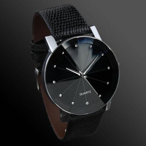 Reloj Hombre-vidrio Prisma -acero -negro Con Plateado Oferta -   485 ... 5da27aac19cd