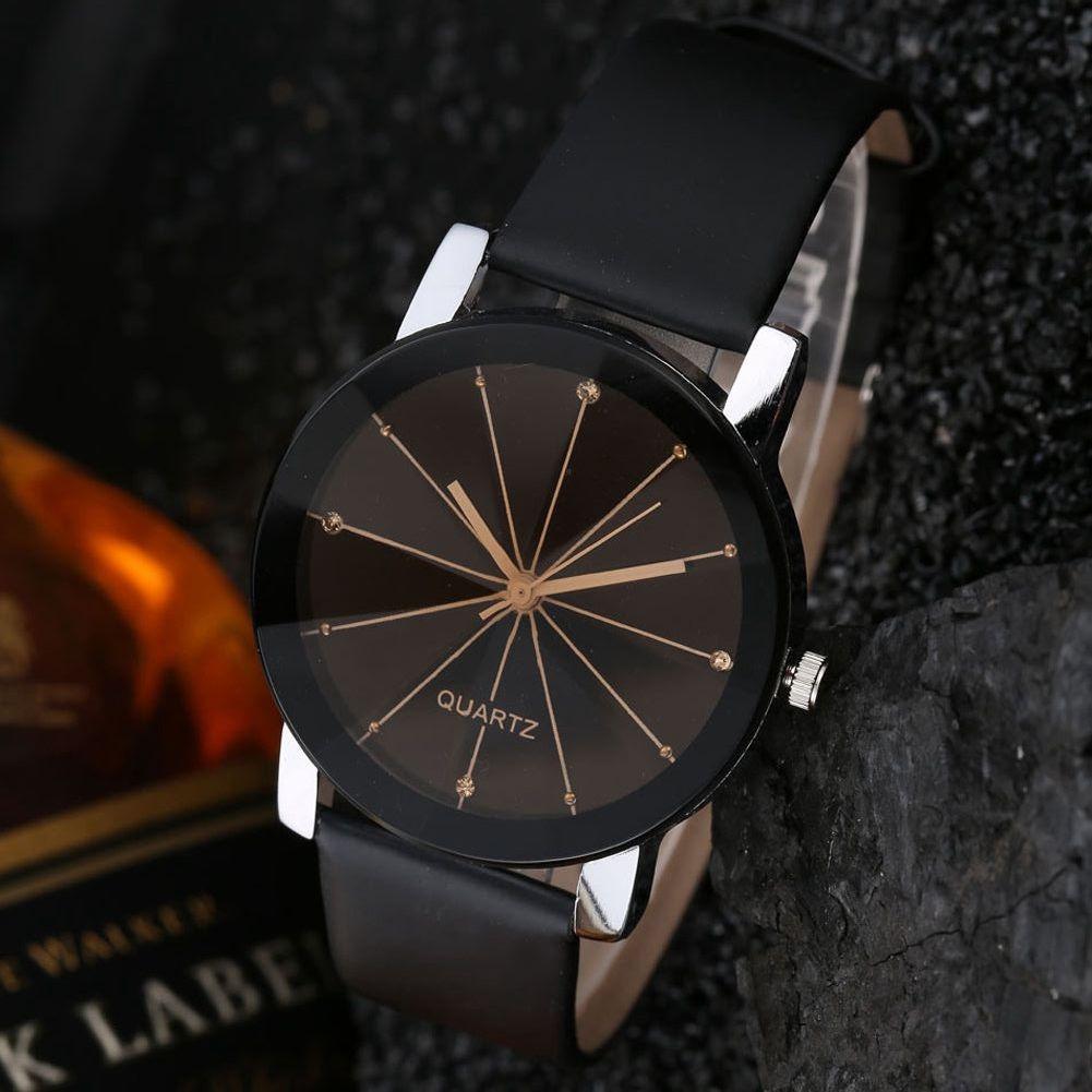 reloj hombre - vidrio prisma- negro - acero inox. Cargando zoom. 6dbe8a384dc4
